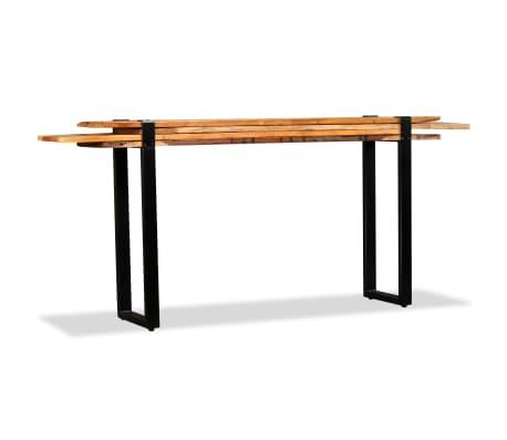 vidaXL Mesa consola ajustável em madeira maciça recuperada[2/11]