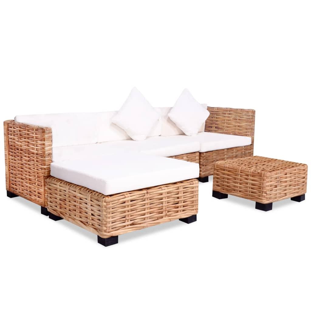 Diese stilvolle und funktionale Sofagarnitur stellt eine großartige Bereicherung für Ihr Wohnzimmer oder Ihren Wintergarten dar!