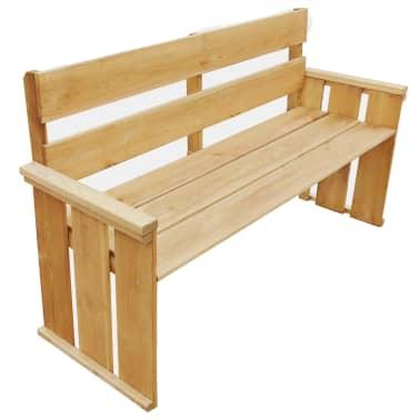 vidaXL Záhradná lavička 160 cm, impregnovaná borovica[1/5]