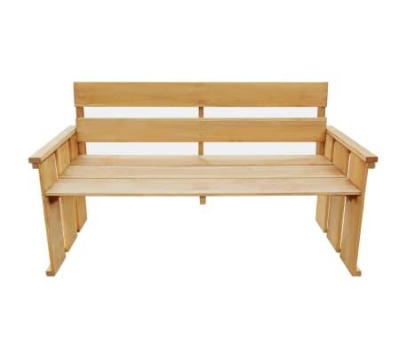 vidaXL Záhradná lavička 160 cm, impregnovaná borovica[2/5]
