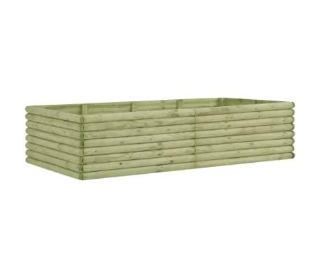 vidaXL Zahradní truhlík 197x106x48 cm impregnované borové dřevo