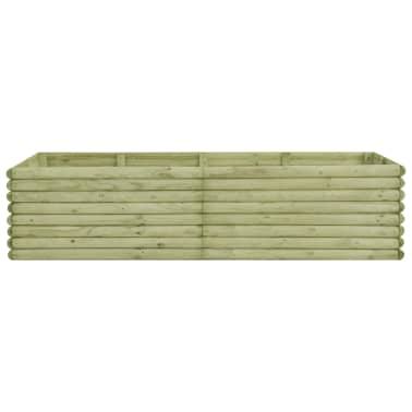 vidaXL Zahradní truhlík 197x106x48 cm impregnované borové dřevo[2/4]