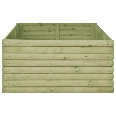 vidaXL Zahradní truhlík 197x106x48 cm impregnované borové dřevo[3/4]