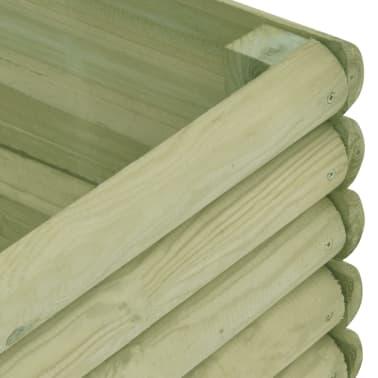 vidaXL Zahradní truhlík 197x106x48 cm impregnované borové dřevo[4/4]