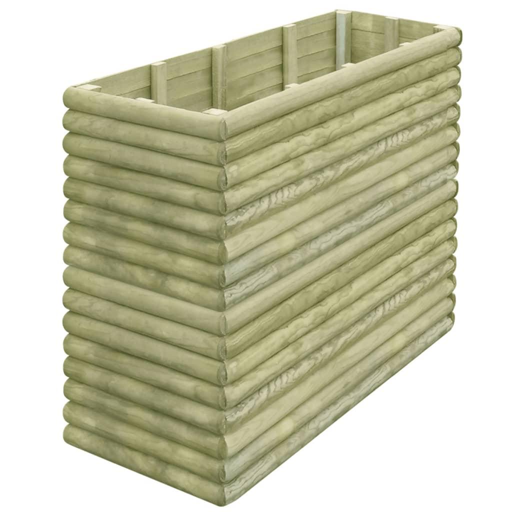 vidaXL Zahradní truhlík 150x56x96 cm impregnované borové dřevo 19 mm