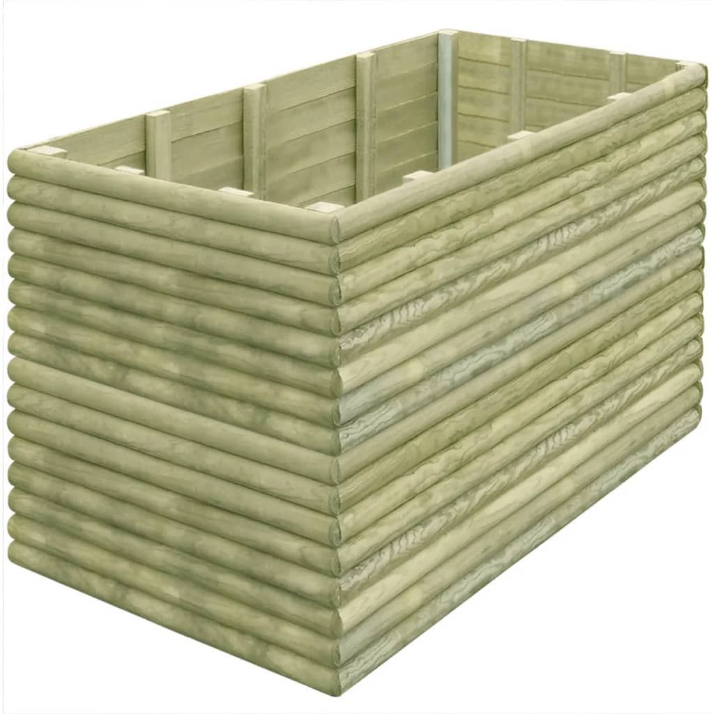 vidaXL Plantenbak 150x106x96 cm geïmpregneerd grenenhout 19 mm
