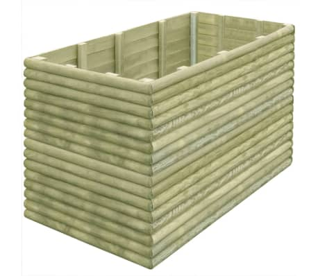 vidaXL Plantenbak 150x106x96 cm 19 mm geïmpregneerd grenenhout
