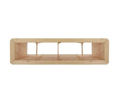 vidaxl pflanzk bel 200 x 50 x 80 cm kiefernholz 19 mm. Black Bedroom Furniture Sets. Home Design Ideas