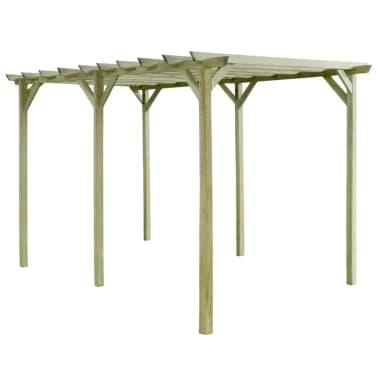 vidaXL Pergola 4x2x2 m geïmpregneerd grenenhout[1/3]