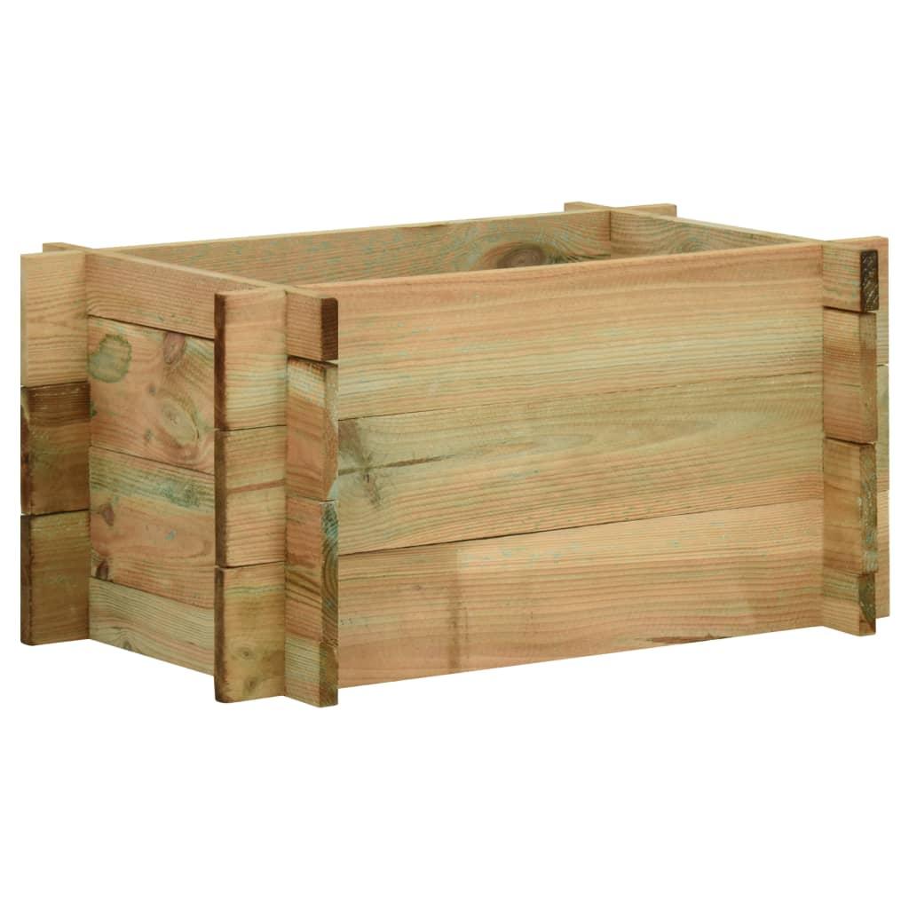 Vyvýšený zeleninový záhon impregnovaná borovice 40 cm