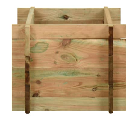 vidaXL Sodo vazonas augalams, FSC impregnuota pušies mediena[3/4]