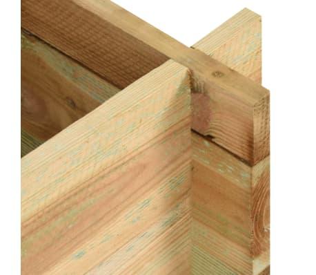 vidaXL Sodo vazonas augalams, FSC impregnuota pušies mediena, 120 cm[4/4]
