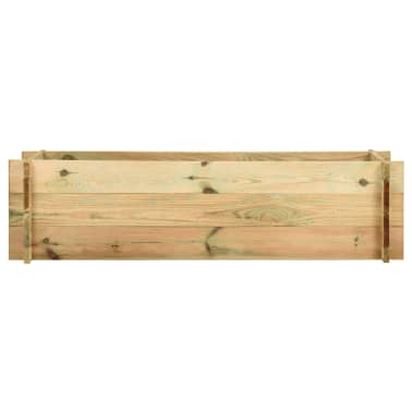 vidaXL Sodo vazonas augalams, FSC impregnuota pušies mediena, 120 cm[2/4]