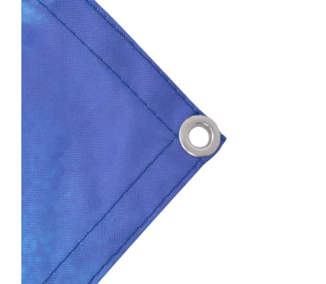vidaXL Paravent de balcon Tissu Oxford 75 x 400 cm Vue de lac[2/4]