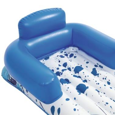 Bestway Nafukovacie ležadlo CoolerZ 84x161 cm, modrá a biela[6/7]