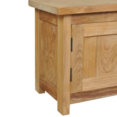 "vidaXL TV Cabinet Solid Teak 47.2""x11.8""x15.7""[5/7]"