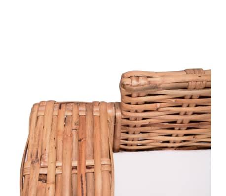 vidaXL 3místná sedačka z přírodního ratanu[4/4]