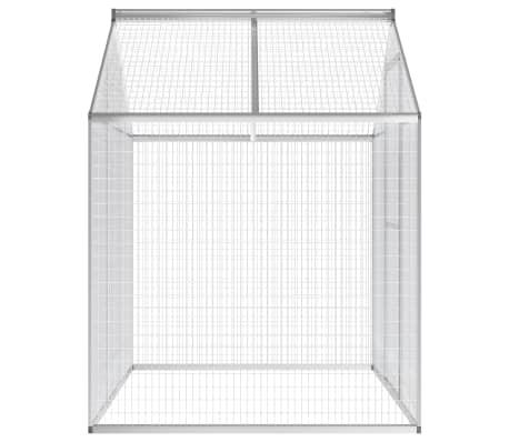 vidaXL kültéri alumínium madárház 178 x 122 x 194 cm[4/5]