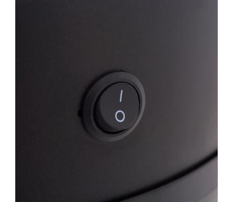 vidaXL Coș de gunoi cu senzor automat 42 L, negru[6/7]