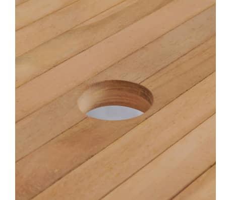 Tavoli Da Giardino In.Vidaxl Tavolo Pranzo Da Giardino Rettangolare In Legno Tavolino