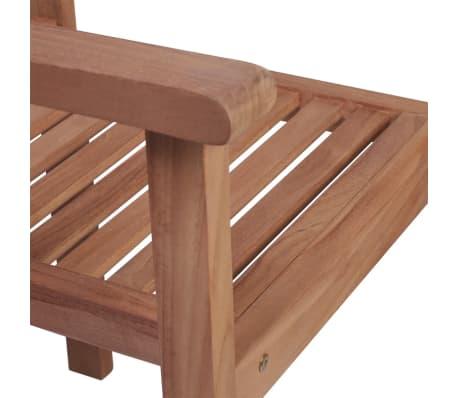 vidaXL Krzesła ogrodowe sztaplowane, 4 szt., lite drewno tekowe[5/7]