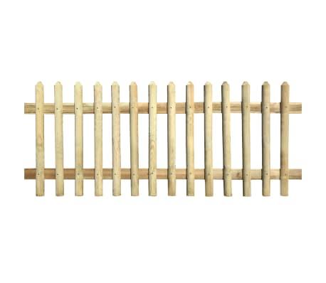 vidaXL Решетъчна ограда, импрегнирано борово дърво, 170x120 см, 5/7 см