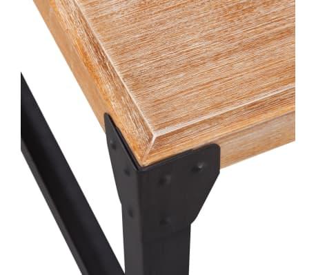 vidaXL Tridelni komplet pohištva za dnevno sobo masiven akacijev les[11/17]
