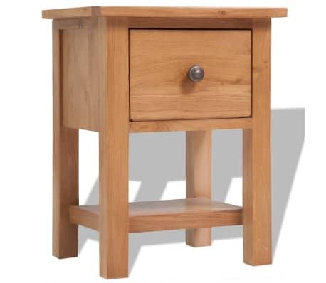 vidaXL 5-delni komplet pohištva za dnevno sobo trden hrastov les[3/33]