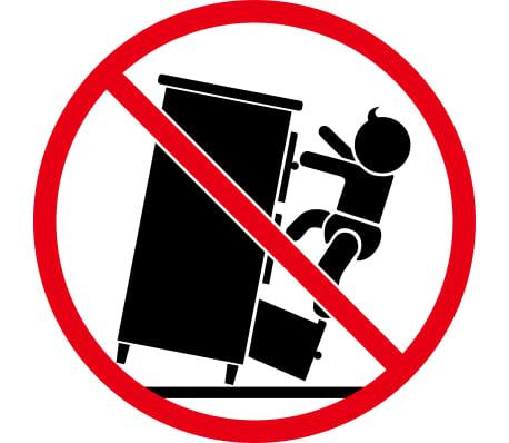 vidaXL 5-delni komplet pohištva za dnevno sobo trden hrastov les[20/33]