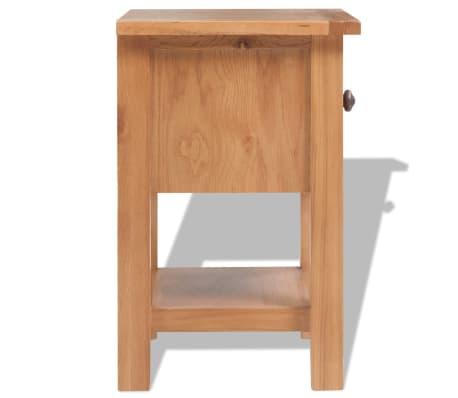 vidaXL 5-delni komplet pohištva za dnevno sobo trden hrastov les[4/33]