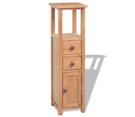 vidaXL Svetainės baldų komplektas, 5d., masyvi ąžuolo mediena[7/33]