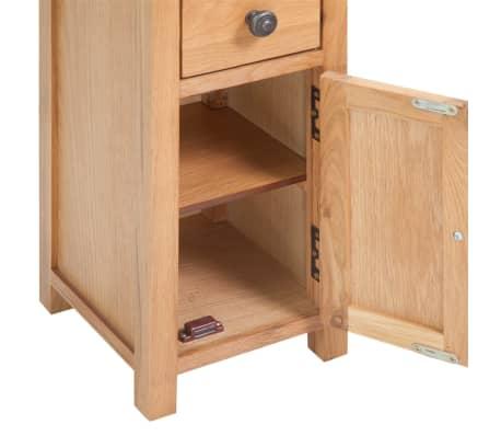 vidaXL 5-delni komplet pohištva za dnevno sobo trden hrastov les[8/33]