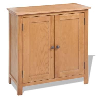 vidaXL 5-delni komplet pohištva za dnevno sobo trden hrastov les[12/33]