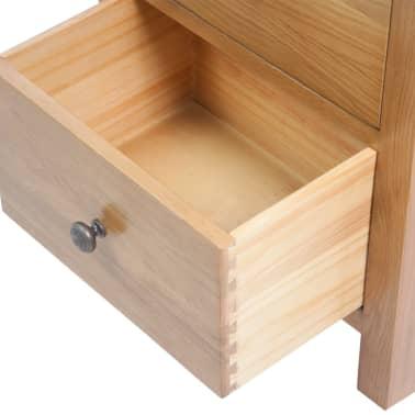 vidaXL 5-delni komplet pohištva za dnevno sobo trden hrastov les[16/33]