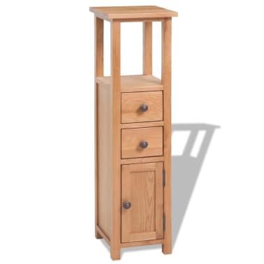vidaXL 5-delni komplet pohištva za dnevno sobo trden hrastov les[7/33]