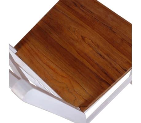 vidaxl esszimmerst hle 6 st ck massivholz teak und. Black Bedroom Furniture Sets. Home Design Ideas