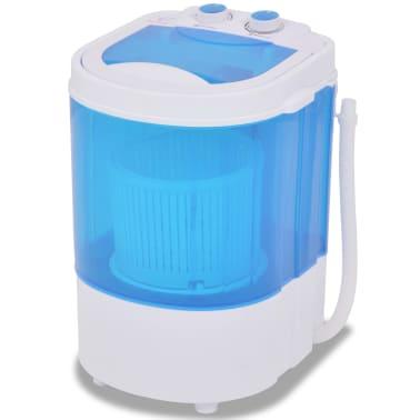 vidaXL Mini skalbimo mašina, vienas skyrius, 2,6kg[1/8]