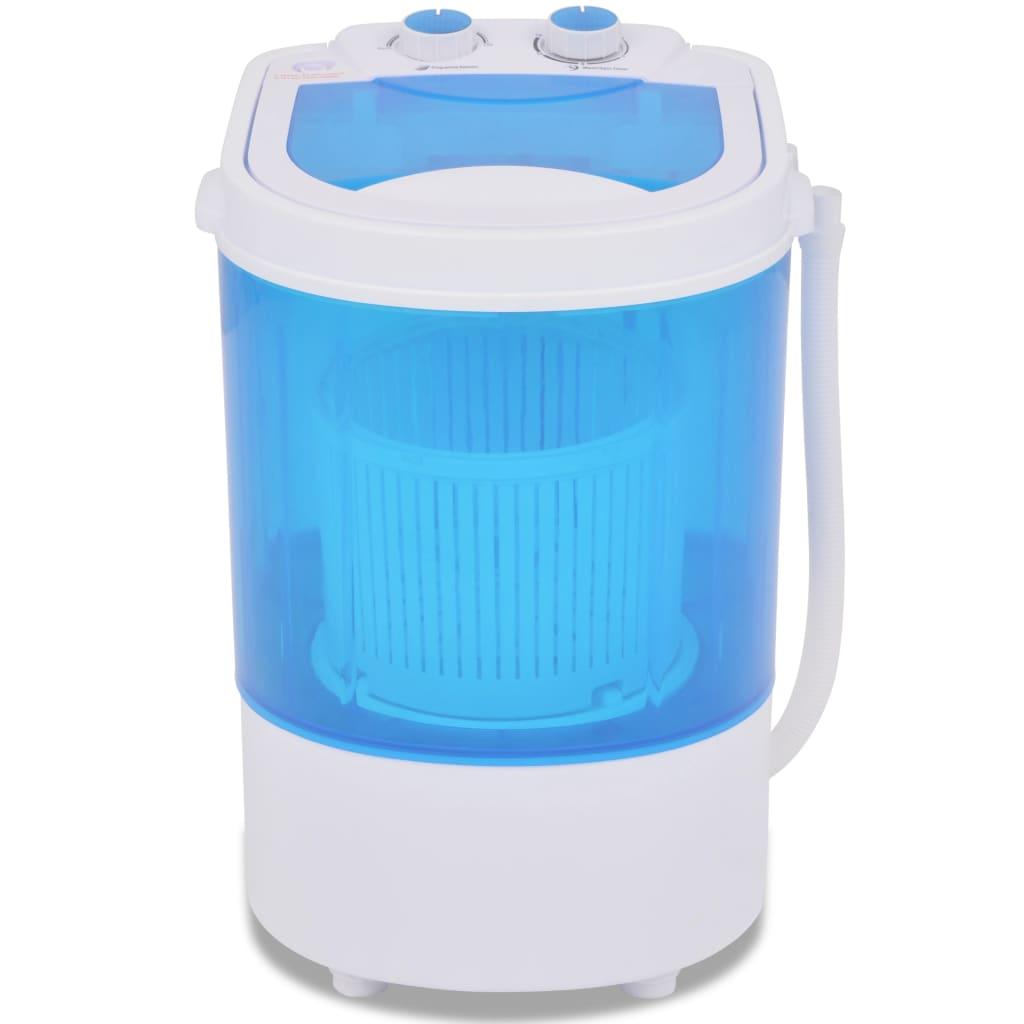 vidaXL Mini wasmachine met enkele trommel 2,6 kg