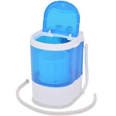 vidaXL Mini skalbimo mašina, vienas skyrius, 2,6kg[7/8]