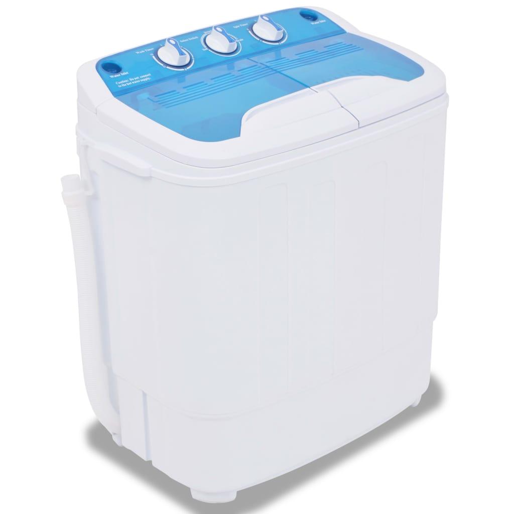 vidaXL Mini pračka, dva bubny, 5,6 kg