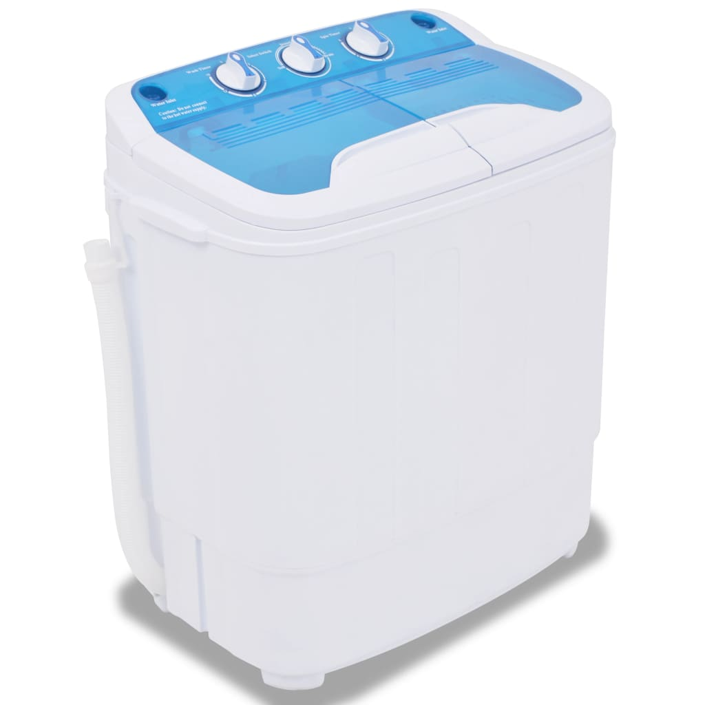 Mini pračka, dva bubny, 5,6 kg
