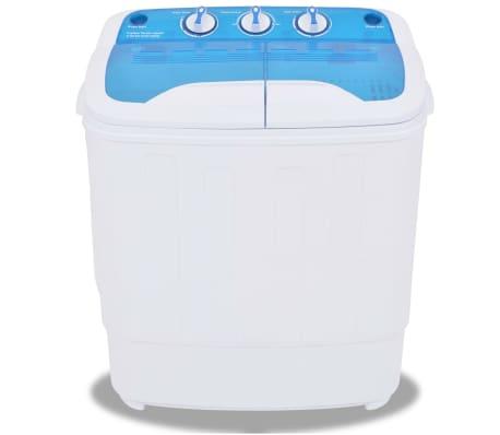 vidaXL Mini lavadora con 2 tambores 5,6 kg[2/8]