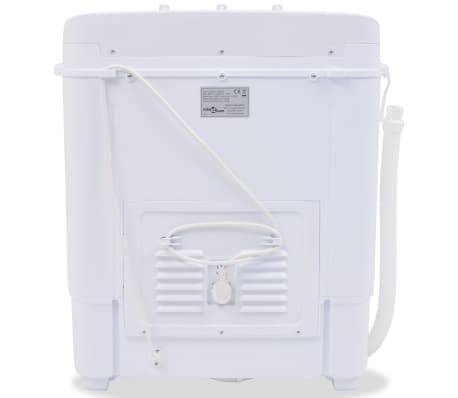 vidaXL Mini lavadora con 2 tambores 5,6 kg[3/8]