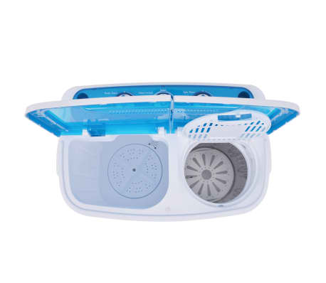 vidaXL Mini lavadora con 2 tambores 5,6 kg[6/8]