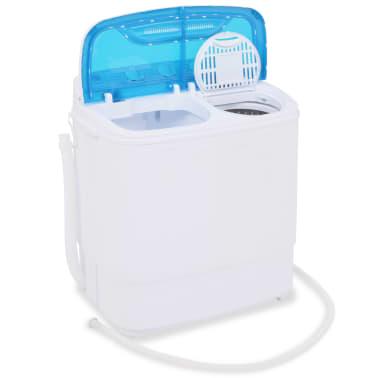 vidaXL Mini lavadora con 2 tambores 5,6 kg[7/8]
