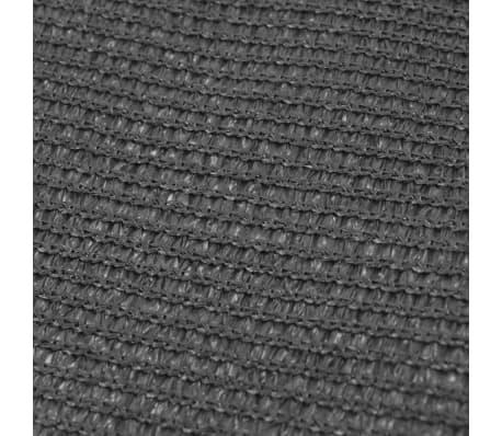 vidaXL Alfombra de tienda de campaña 250x600 cm gris antracita[3/3]