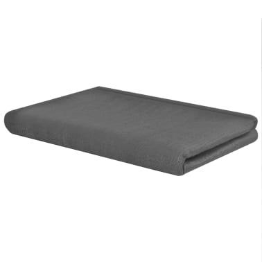 vidaXL Alfombra de tienda de campaña 300x600 cm gris antracita[2/3]
