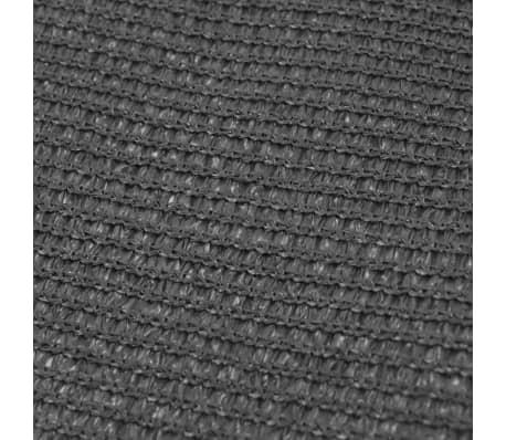 vidaXL Alfombra de tienda de campaña 300x600 cm gris antracita[3/3]