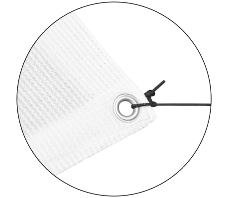vidaxl sonnensegel mit gestell hdpe quadratisch 3 x 3 m wei g nstig kaufen. Black Bedroom Furniture Sets. Home Design Ideas
