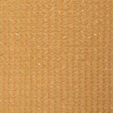 vidaXL Jaluzea tip rulou de exterior, 140 x 140 cm, bej[5/5]